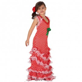Disfraz de Sevillana Rojo