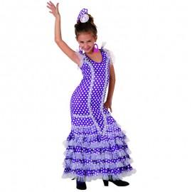 Disfraz de Sevillana Púrpura