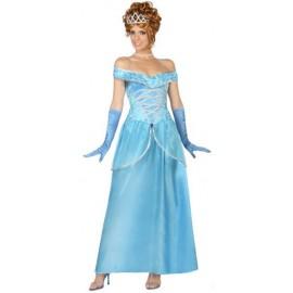 Disfraz de Princesa Azul Cenicienta