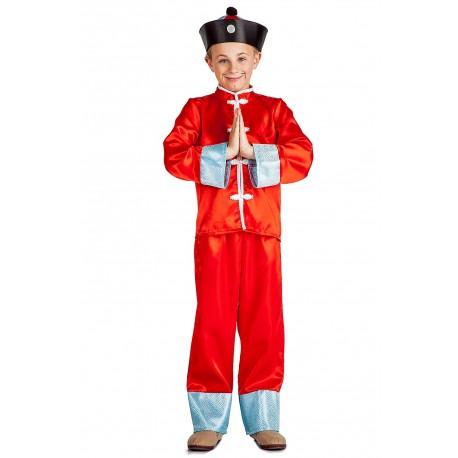 disfraz de chino niños