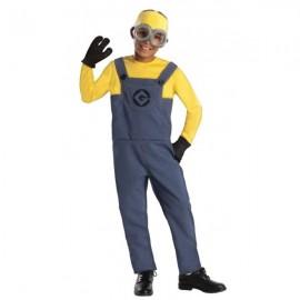 Disfraz de Minion Dave Gru mi villano favorito para niño
