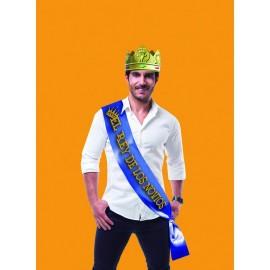 """Banda de Despedida para el Novio """"El Rey de los Novios"""" con Corona"""
