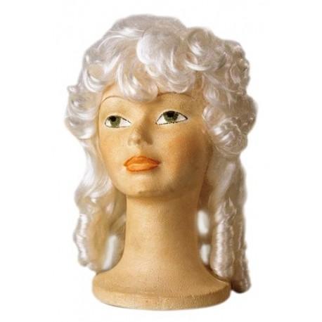 Peluca Gran Dama de Epoca en Color Blanco