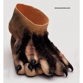Pies de Monstruo con Pelo