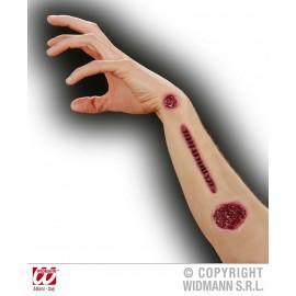 Maquillaje Efecto Cicatrices de Latex