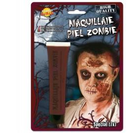 Maquillaje Piel de Zombie Morado