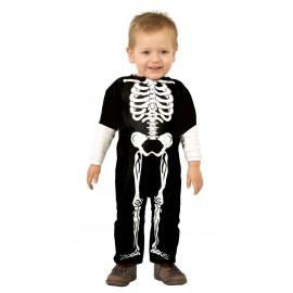 Disfraz de Esqueleto Bebe