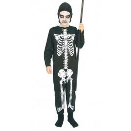 Disfraz de Esqueleto para Niños.