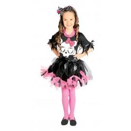 Disfraz de Skull Girl o Niña Calavera