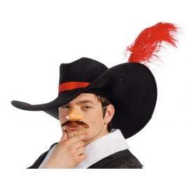 Sombrero de Mosquetero o Espadachin