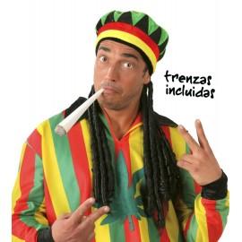 Gorra de Jamaicano con Trenzas