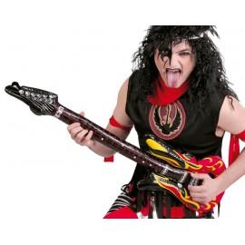 Guitarra Hinchable de Rock
