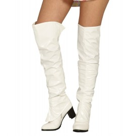 Cubrebotas Blancas para Mujer