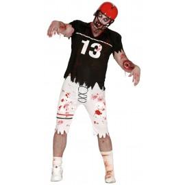 Disfraz Jugador de Rugby Zombie