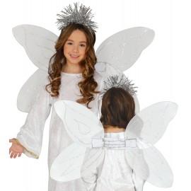 Alas de Angel Infantil con Diadema