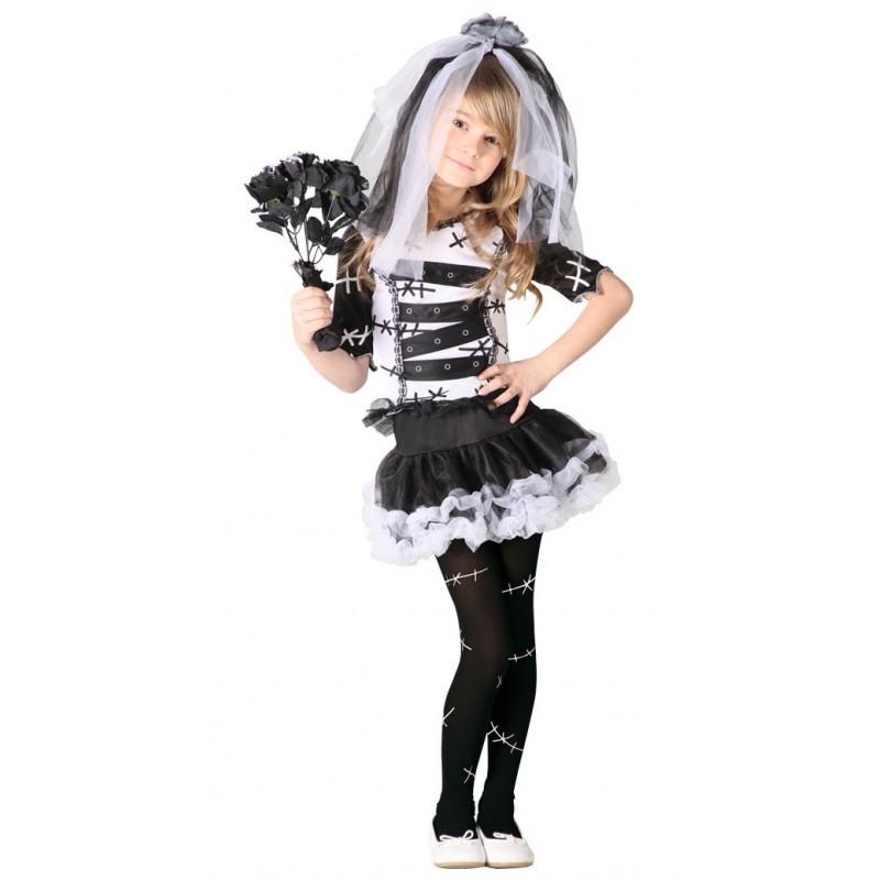 disfraz de novia cadaver nia