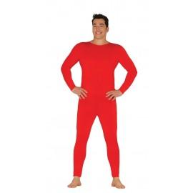 Maillot Mono Body para Hombre en Color Rojo