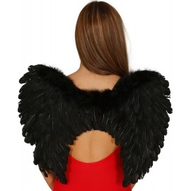 Alas Negras Angel Caido 50 cm