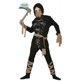 Disfraz de Ninja Esqueleto para Niños