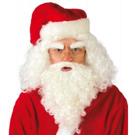 Conjunto Barba y Peluca de Papa Noel