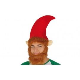 Gorro o Sombrero de Elfo con Barba