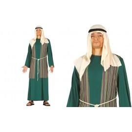 Disfraz de San Jose Pastor en Color Verde