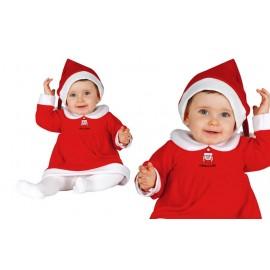 Disfraz de Mama Noel para Bebes