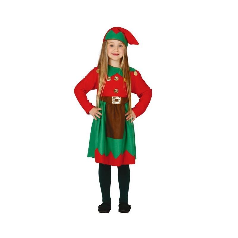 disfraz de elfa para nia