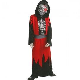 Disfraz Esqueleto Calavera Sangriento