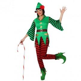 Disfraz de Elfo para Mujer.