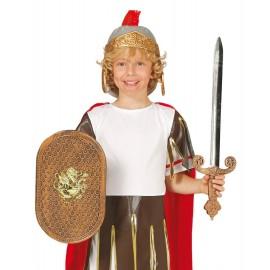 Conjunto de Escudo y Espada de Romano Infantil