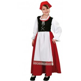 Disfraz de Aldeana Pastora