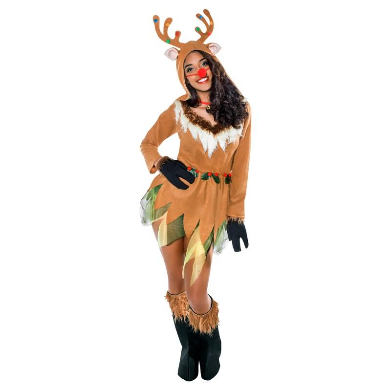 Disfraz de reno para mujer env o garantizado 48h - Disfraz de reno nina ...