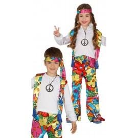 Disfraz de Hippie Infantil.