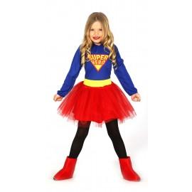 Disfraz de Super Heroe para niña