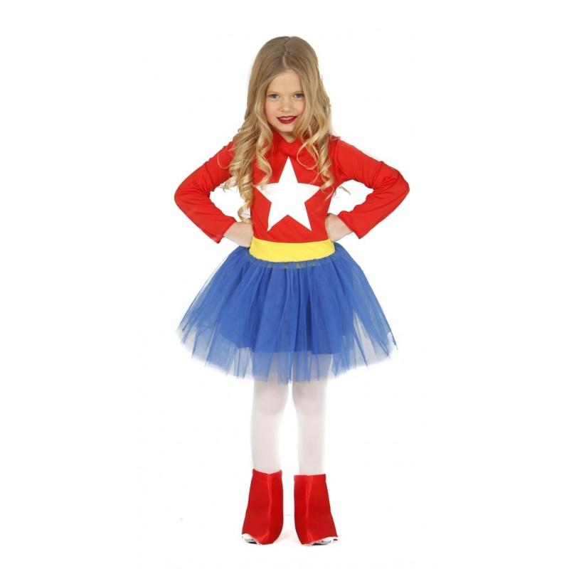 Disfraz de super heroe para ni a env o garantizado 48h - Disfraces para bebe nina ...
