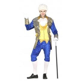 Disfraz Marqués Azul