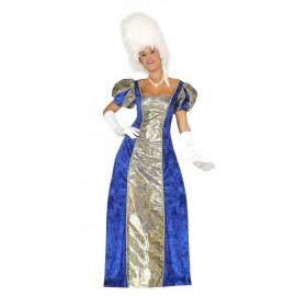 Disfraz Marquesa Azul