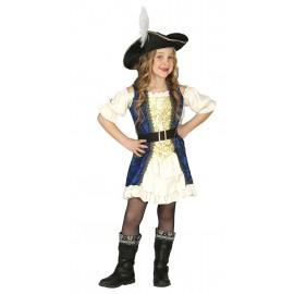 Disfraz pirata lujo infantil