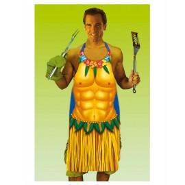 Delantal Hawaiano chico
