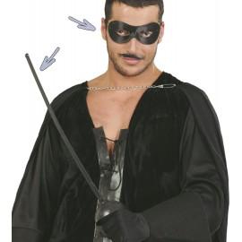 Antifaz y Espada del Zorro 63 cm
