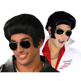 Peluca Elvis Rey del Rock