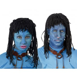 Peluca Avatar indígena