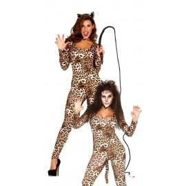 Disfraz Leoparda adulto
