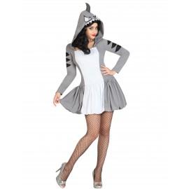 Disfraz de Tiburón para Mujer.