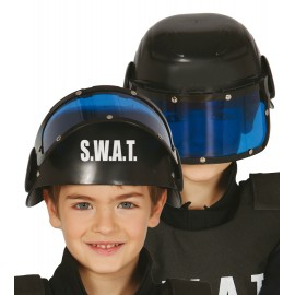 Casco Policía especial Swat