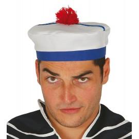 Gorro marinero azul blanco