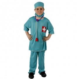 Disfraz de Medico Doctor Cirujano Niño
