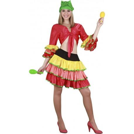 Disfraz de Rumbera para Adulto