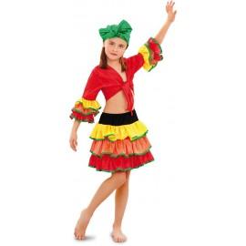 Disfraz de Rumbera para niñas